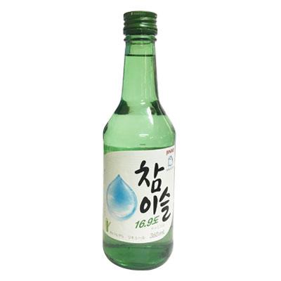 """""""真露] 控释 17.8 度 (360 毫升,酒精 17.8%) [Jinro] [真露、 韩国烧酒葡萄酒韩国食品"""