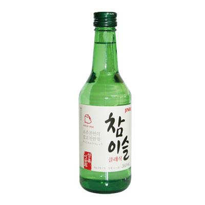 """Jinro"" chamisul soju (360 ml, alcohol 20.1%) classic-original [Jinro], [JINRO, Korea shochu Korea wine Korea food"