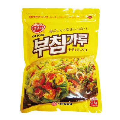 \色んな材料と合わせて美味しい手作りのチヂミが簡単に作れる/ 『オットギ』チヂミの粉(1kg)オトギ 韓国料理 韓国食材 韓国食品スーパーセール ポイントアップ祭 マラソン