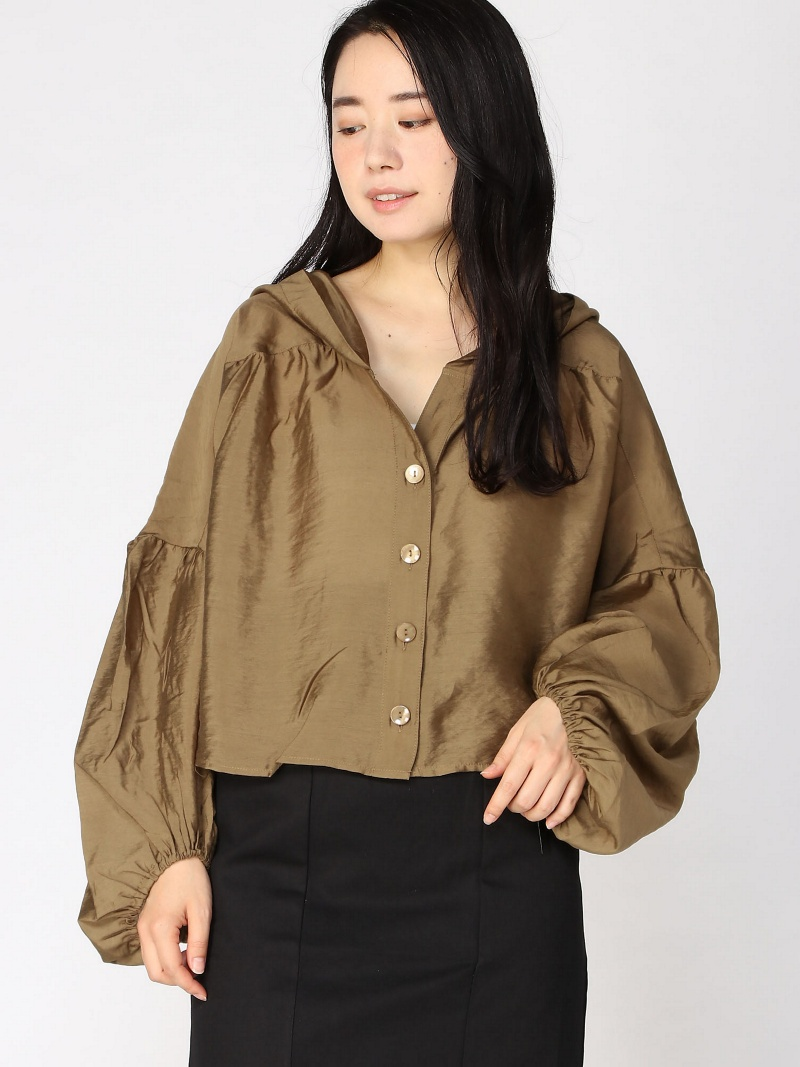 c6a023c6 PAL GROUP OUTLET: [Rakuten BRAND AVENUE] volume sleeve fastening in front  キフード BL who's who Chico pal group outlet shirt / blouse | Rakuten Global ...