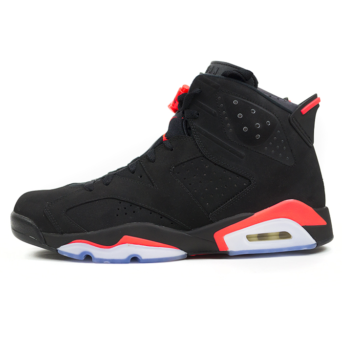 9e807480 PALM NUT: NIKE / Nike AIR JORDAN 6 RETRO and Air Jordan 6 retro  BLACK-INFRARED23 / black infra red 384664-023 domestic genuine new old stock  | Rakuten ...