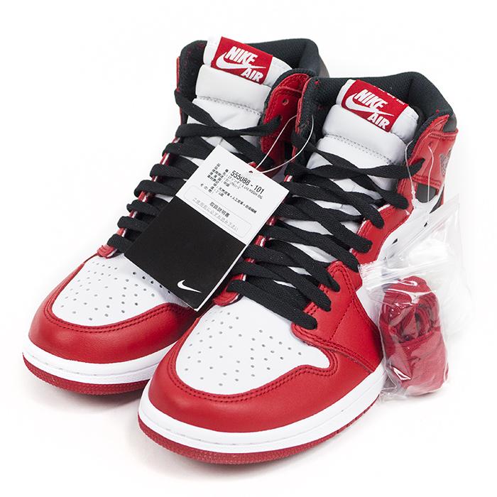 NIKE   Nike AIR JORDAN 1 RETRO HIGH OG CHICAGO   Air Jordan 1 retro hi s  Chicago WHITE BLACK-VARSITY RED   white   black - Varsity red 555088 - 101  ... 571999100