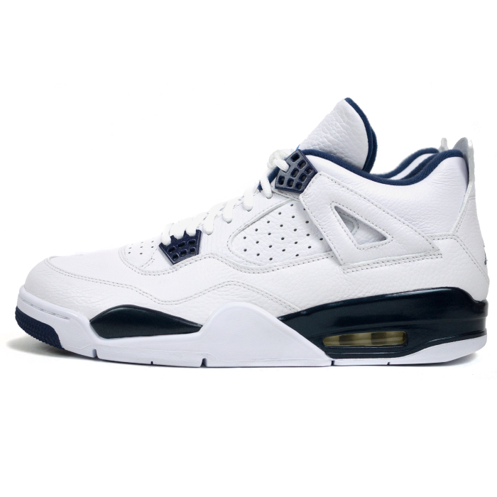 low priced e174c dc4b4 PALM NUT  Air Jordan 4 retro Colombia WHITE LEGEND BLUE-MIDNGHT NAVY    white legend Blue Navy 314254-107   NIKE   Nike AIR JORDAN 4 RETRO COLUMBIA  domestic ...