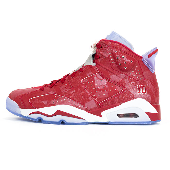 size 40 40536 2753b National Eagle NIKE×SLAM DUNK and Nike x slam dunk AIR JORDAN 6 RETRO and  Air Jordan 6 retro RED VARSITY RED-WHITE VARSITY   Varsity red white  717302-600 ...