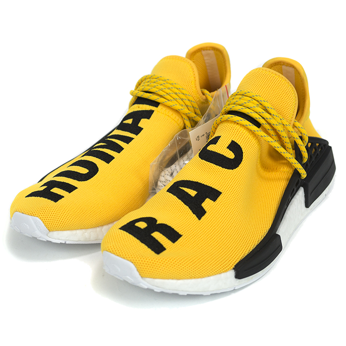 newest 134e7 2ec6a PHARRELL WILLIAMS×ADIDAS ORIGINALS/Pharrell Williams x adidas originals  HUMAN RACE NMD EQUIPMENT / human race equipment YELLOW WHITE / yellow /  white ...