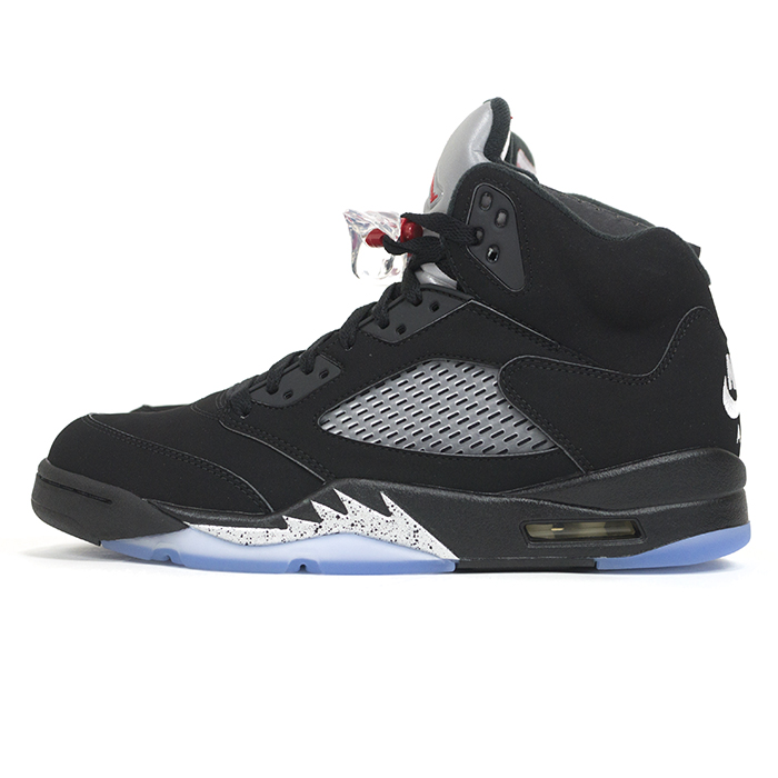 f47b5b8b PALM NUT: Domestic genuine NIKE AIR JORDAN 5 RETRO OG / Nike Air Jordan 5  retro SILVER-WHITE OG BLACK/FIRE RED-METALLIC / black / fire Red - Metallic  silver ...