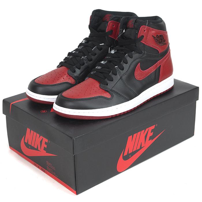 separation shoes 755b4 b4061 NIKE AIR JORDAN 1 RETRO OG BANNED (555088-001). DETAIL