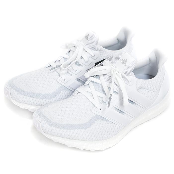 "adidas / adidas Ultra BOOST HEATHER RUNNING ""TRIPLE WHITE"" / ultra boost Heather running triple white HITE/running WHITE / black / running white domestic Eagle tag AQ5929 2016 Nos new old stock"