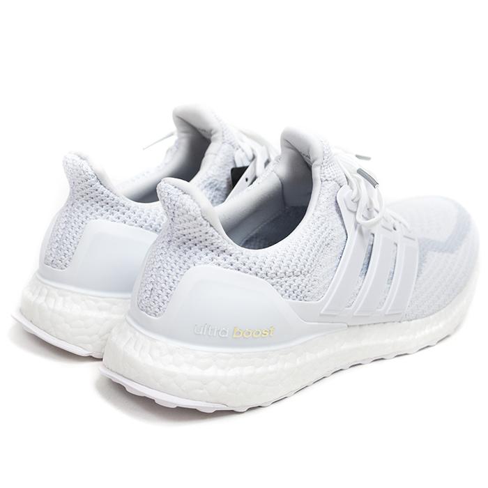 """adidas / 阿迪達斯超提升運行""""三白""""的希瑟 / 超刺激希瑟運行三白色白色/跑步白色 / 黑色 / 運行白國內鷹標籤 AQ5929 2016 Nos 新老股票"""