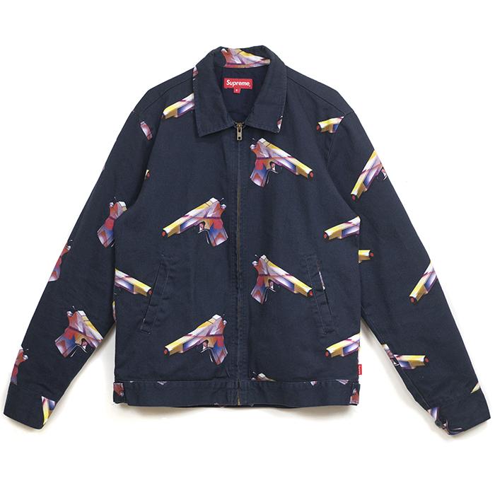 Supreme / Supreme Mendini Gun Work Jacket and Mendini cancer work jacket gun Navy / Navy 16 SS domestic genuine beauty thrift