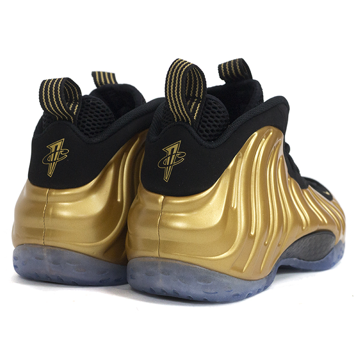new style 6559c 5059e Domestic genuine NIKE AIR FOAMPOSITE ONE / Nike Air form posit one METALLIC  GOLD/METALLIC GOLD-BLACK / metallic gold black 314996-700 Nos new old ...
