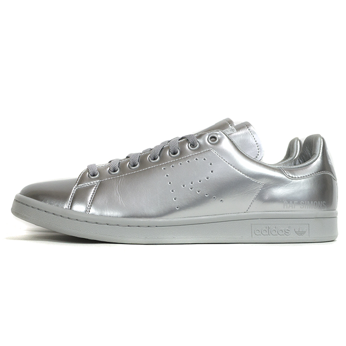 sports shoes e8542 bb4dd adidas by RAF SIMONS / adidas original Raf Simons STAN SMITH / Stan Smith  Metallic Silver / metallic silver genuine tagged with AQ2643 brand new as  ...