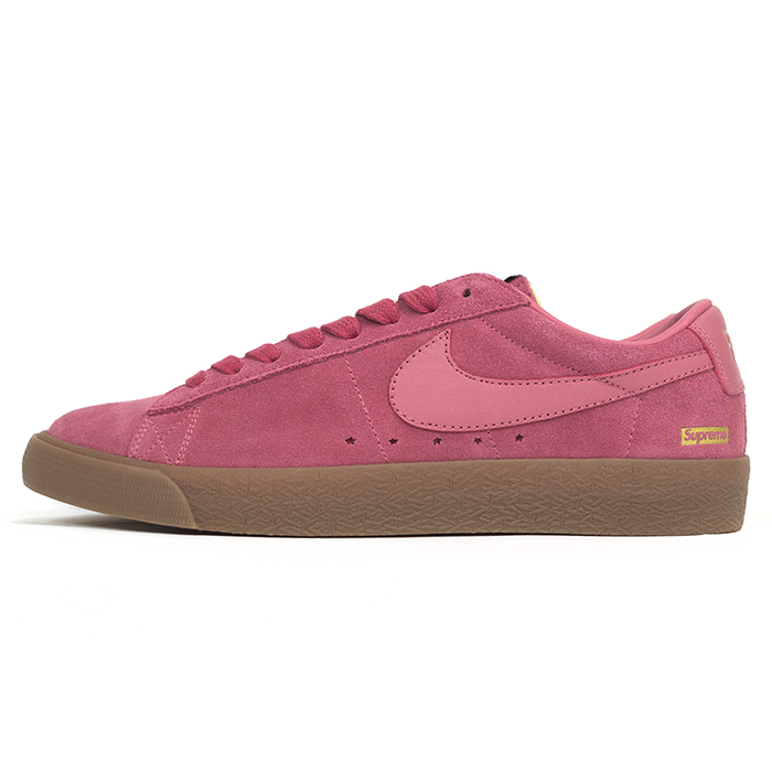 detailed look 72802 87739 Old and new things article with Supreme X NIKE SB   シュプリーム X Nike SB Blazer  Low GT   blazer low Pink   pink  716,870-669  2016AW domestic regular ...