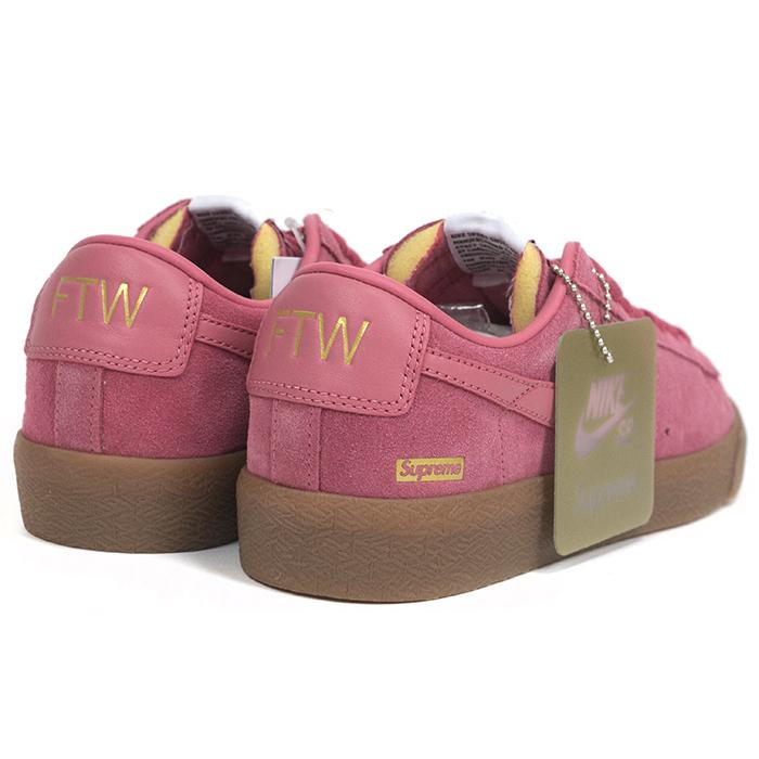 buy popular aca7c 6d05c Supreme×Nike SB / Supreme x Nike SB Blazer Low GT / Blazer low Pink / Pink  2016 AW domestic Eagle tag Nos new old stock