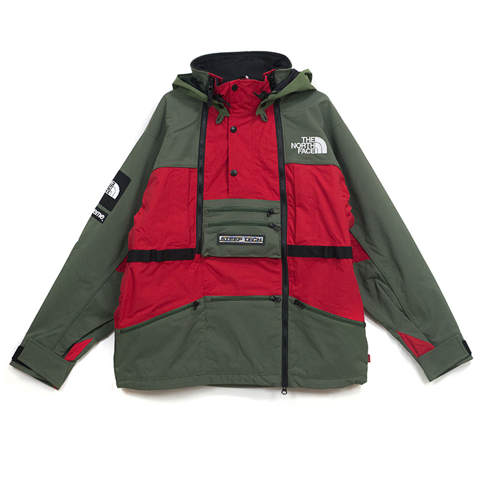 60dedb7cf2 ... purchase supreme x the north face supreme the north face steep tech  hooded jacket steep tech