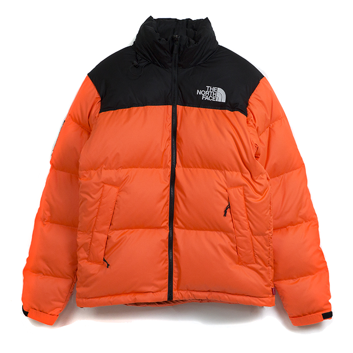 The North Face Jacke Orange