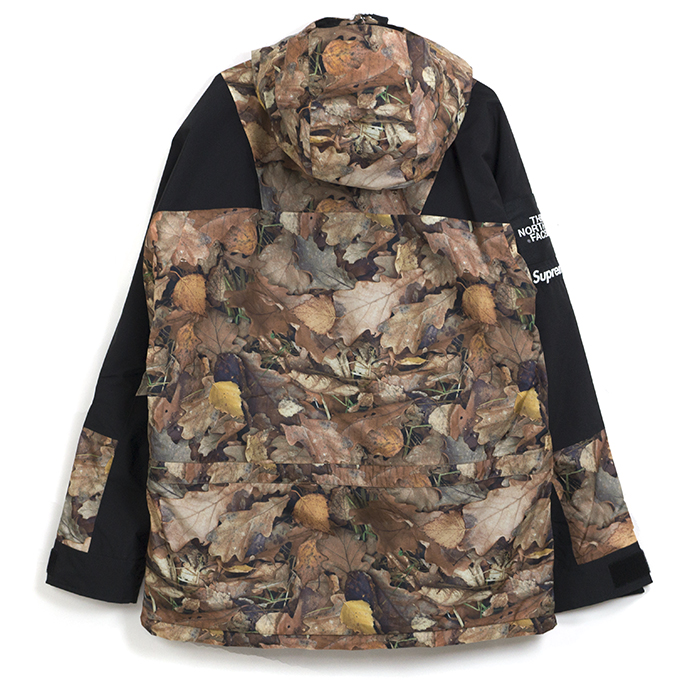 Supreme The North Face X Mountain Light Jacket Camo Leaves And Duck Reeves S Size 2017 Aw Fw Domestic