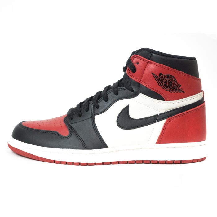 air jordan 1 red black