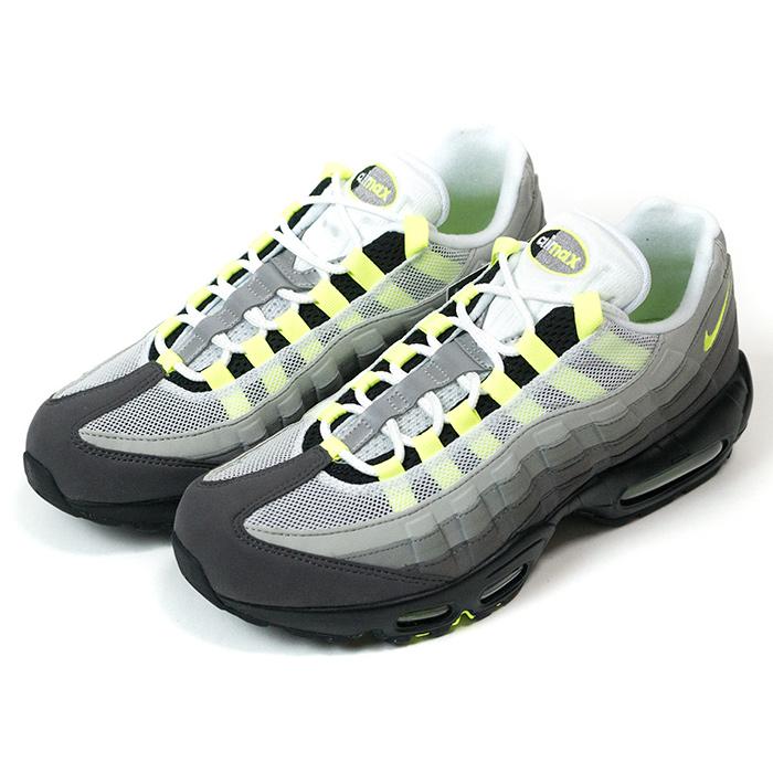 Nike Air Max 95 OG Premium Black Volt Medium Ash Dark