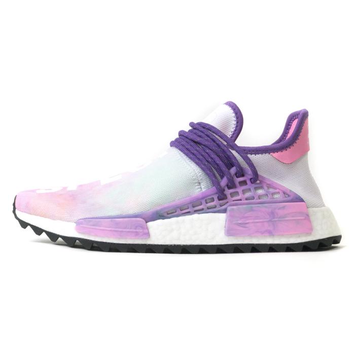 Pharrell Williams X adidas Originals   Farrell Williams X Adidas HU HOLI POWDER  DYE   Chinese holly powder die PINK   pink 2018SS domestic regular article  ... 0464fe173