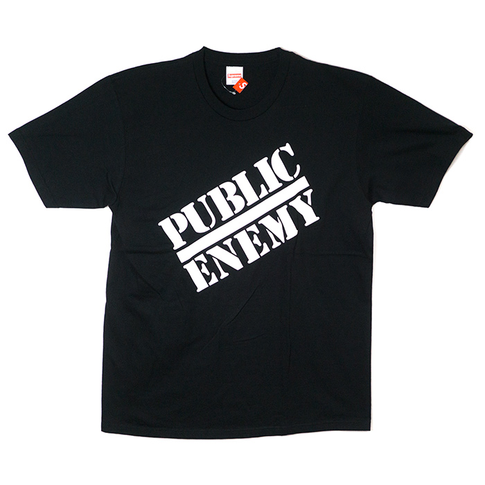cad0f5e3 PALM NUT: Supreme x UNDERCOVER / シュプリームアンダーカバー Public Enemy Tee / public  enemy T-shirt Black / black 2018SS domestic regular article old and ...