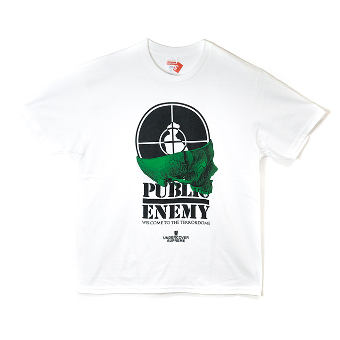 72a094d9fa11 PALM NUT: Supreme x UNDERCOVER / シュプリームアンダーカバー Public Enemy Terrordome Tee  / public enemy terra dome T-shirt White / white 2018SS domestic ...