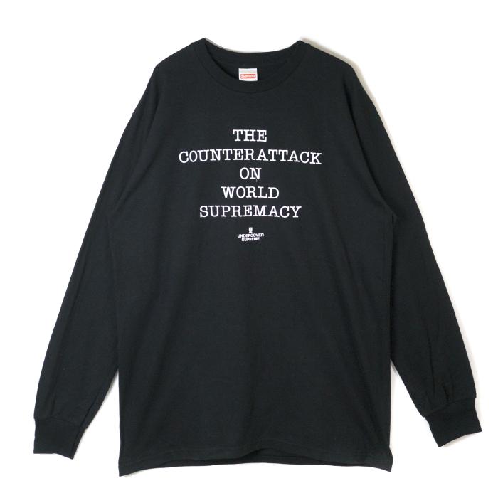 e93ff6d9aef1 PALM NUT: Supreme x UNDERCOVER / シュプリームアンダーカバー Public Enemy Counterattack  L/S Tee / public enemy counterattack Longus Reeve T-shirt Black ...