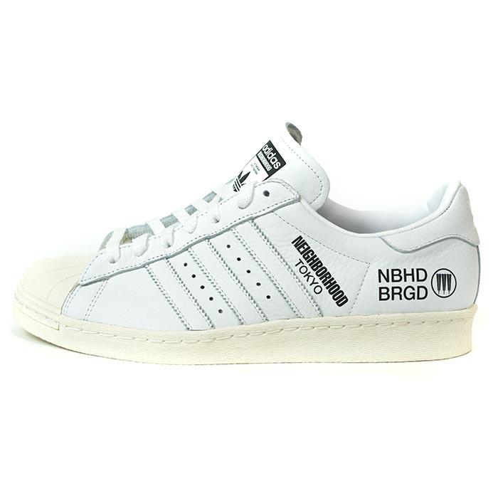 purchase cheap 816b0 219a3 adidas Originals by NEIGHBORHOOD / Adidas Ney bar Hood SUPERSTAR  NBHD/SNEAKER / superstar WHITE / white Isetan POP UP STORE