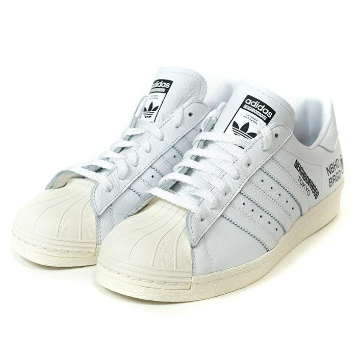 purchase cheap 08a37 b880d adidas Originals by NEIGHBORHOOD / Adidas Ney bar Hood SUPERSTAR  NBHD/SNEAKER / superstar WHITE / white Isetan POP UP STORE