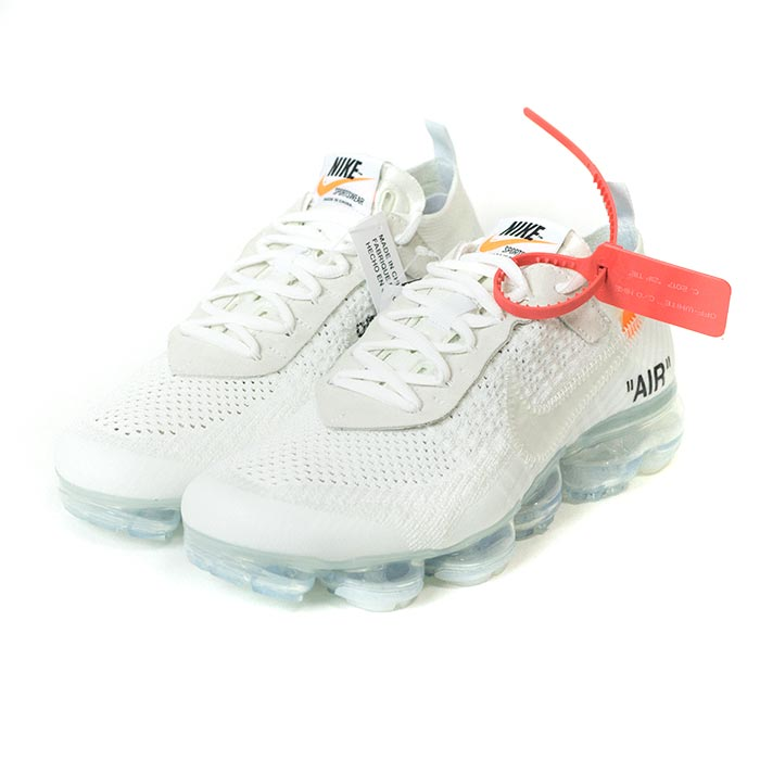 cf3f5857bf4a8 Domestic regular article 2018SS OFF-WHITE VIRGIL ABLOH X NIKE THE 10 AIR  VAPORMAX FLYKNIT White Total Crimson-Black  AA3831-100