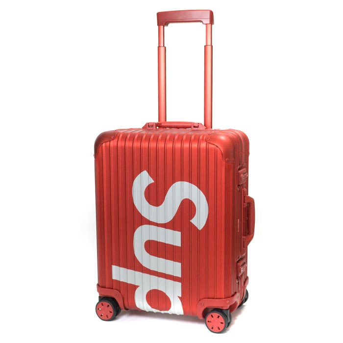 d6a00715b PALM NUT: Supreme x RIMOWA / シュプリームリモワ Topas Multiwheel 45L / topaz  multi-wheel 45 liters Red / red red 2018SS domestic regular article old and  new ...
