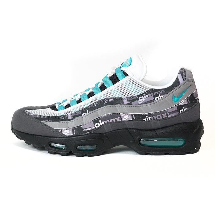 atmos X NIKE atto MOS Nike AIR MAX 95 JADE ATOMS EXCLUSIV Air Max 95 ジェイドアトモスエクスクルーシブ BLACK CLEAR JADE black clear Jade