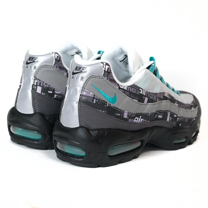 competitive price af38c c4f92 atmos X NIKE  atto- MOS Nike AIR MAX 95 JADE ATOMS EXCLUSIV  Air Max 95  ジェイドアトモスエクスクルーシブ BLACK CLEAR JADE  black clear Jade