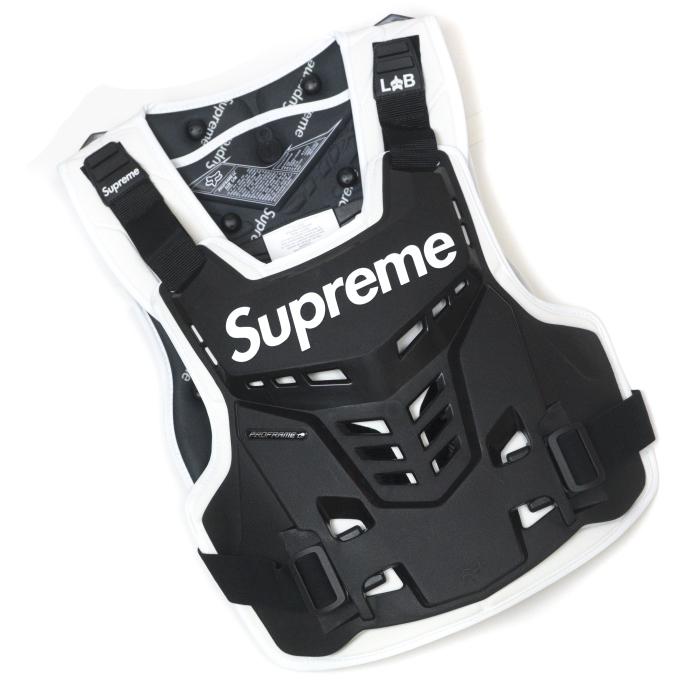 Supreme x Fox Racing / シュプリーム フォックス レーシングProframe Roost Deflector Vest / プロフレーム ルースト ディフレクター ベストBlack / ブラック 黒2018SS 国内正規品 新古品【中古】