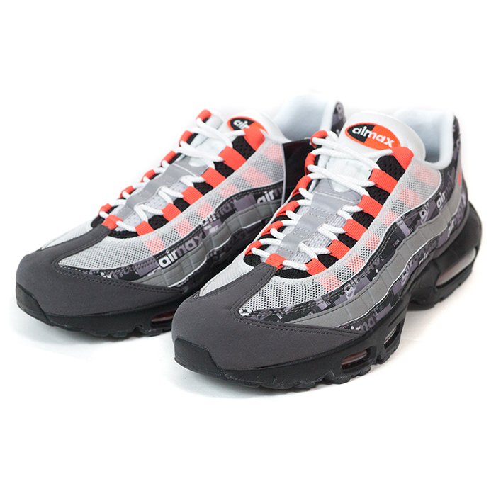 atmos X NIKE atto MOS Nike AIR MAX 95 Air Max 95 GrayBlackInfrared gray black infrastructure red