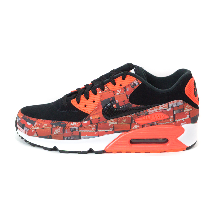 wholesale dealer 79b79 2a653 atmos X NIKE/ atto- MOS Nike AIR MAX 90/ Air Max 90 Infrared/Black/White/  infrastructure red black white
