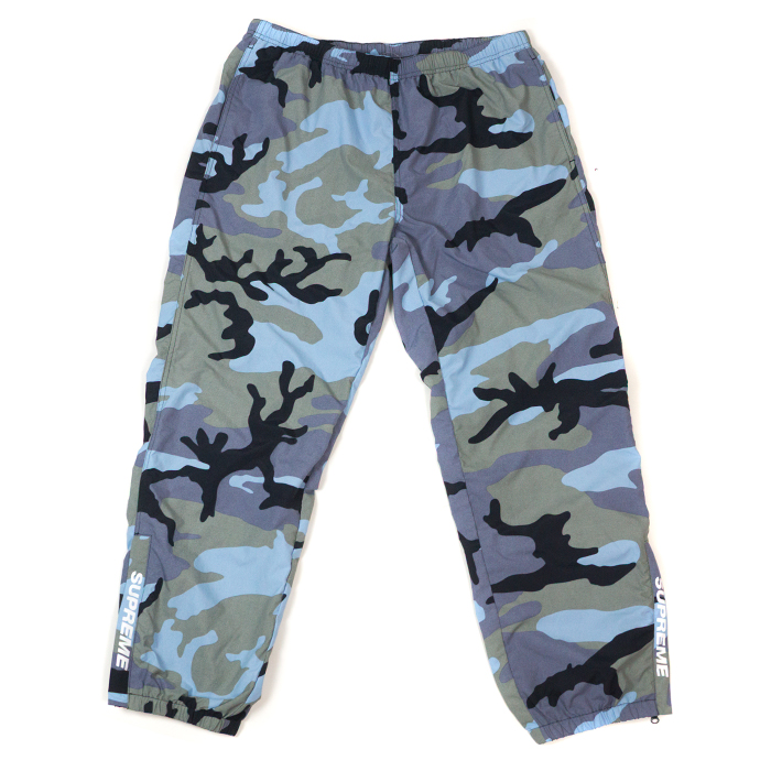 25dc5a2310216 PALM NUT: Supreme / シュプリーム Warm Up Pant / warm-up underwear Blue Camo / blue  duck 2018SS domestic regular article old and new things product | Rakuten  ...