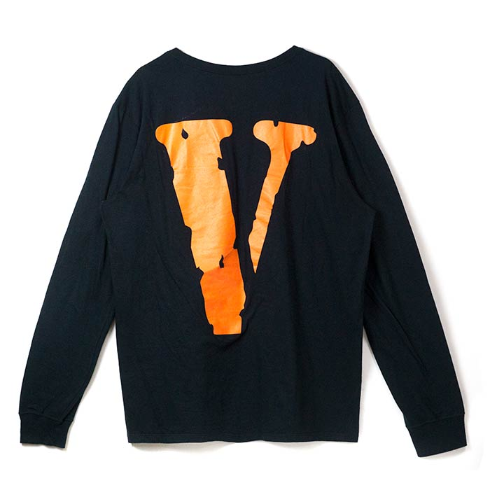 a904ce2e2765 PALM NUT: NIKE / Nike Vlone Long Sleeve Tee / Vee loan Longus Reeve T-shirt  Black / black black domestic regular article old and new things product ...