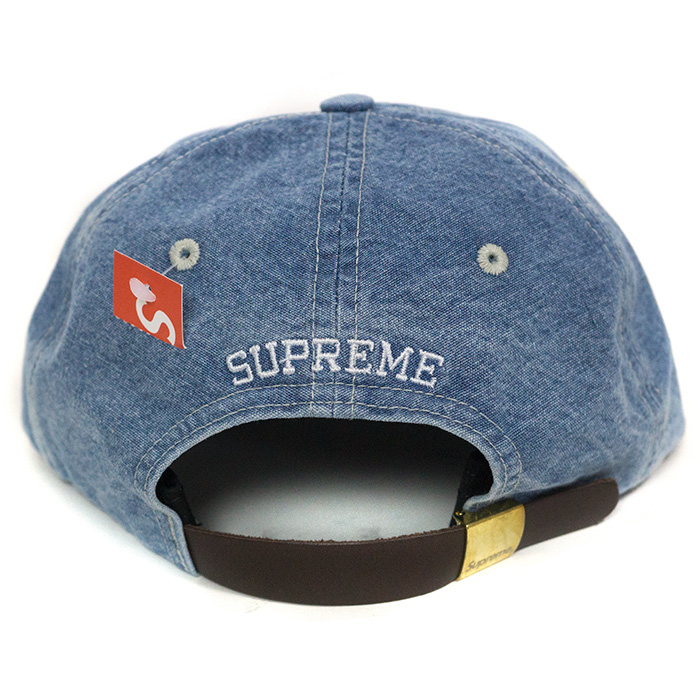 041e604a72b Supreme   シュプリーム Washed Chambray S Logo 6-Panel   ウォッシュドシャンブレー S logo 6  panel Blue   blue blue 2018SS domestic regular article old and new ...