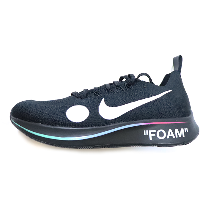 616e1264c66a Domestic regular article 2018SS OFF-WHITE X NIKE Zoom Fly Mercurial Flyknit  Black / [AO2115-001]
