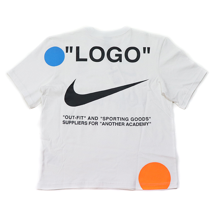 OFF-WHITE X NIKE off-white x Nike T-Shirt   T-shirt White   white white  domestic regular article old and new things product 0e59de312
