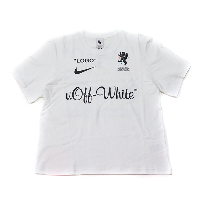 OFF-WHITE X NIKE off-white x Nike T-Shirt / T-shirt White / white white domestic regular article old and new things product