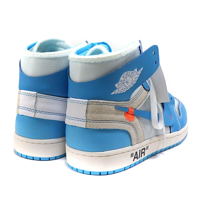 low priced a30b9 991f0 OFF-WHITE X NIKE / off-white x Nike AIR JORDAN 1 UNC / Air Jordan one  Powder Blue / powder blue blue / [AQ0818-148] domestic regular article old  and ...