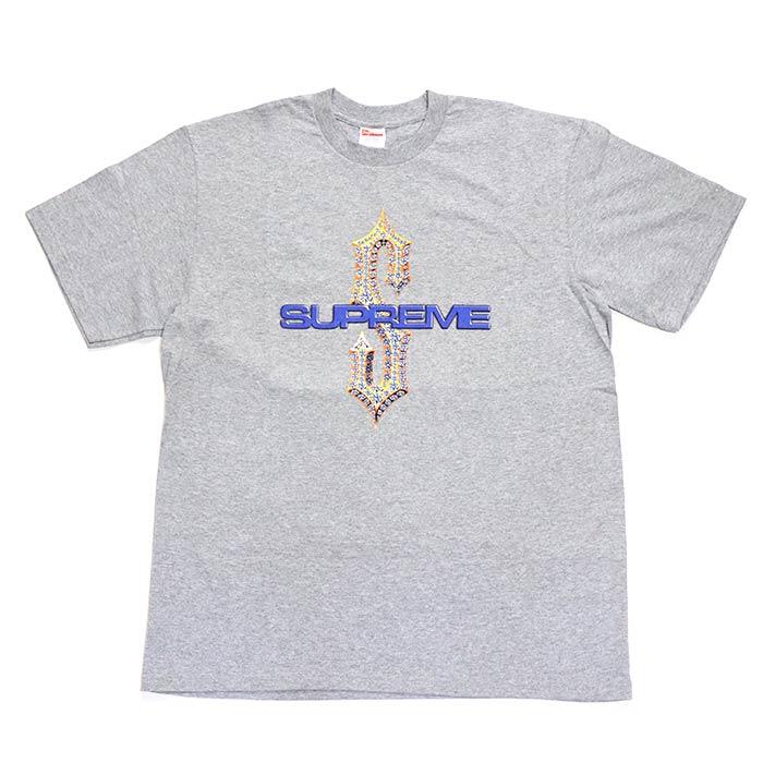 Supreme / シュプリームDiamonds Tee / ダイヤモンド TシャツGray / グレー 灰2018SS 正規品 新古品【中古】
