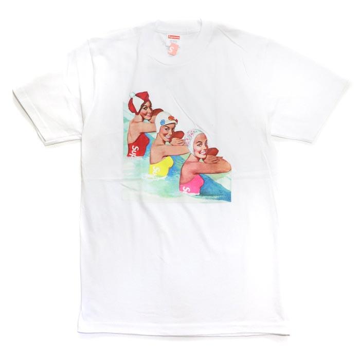 Supreme / シュプリームSwimmers Tee / スイマーズ TシャツWhite / ホワイト 白2018SS 国内正規品 新古品【中古】