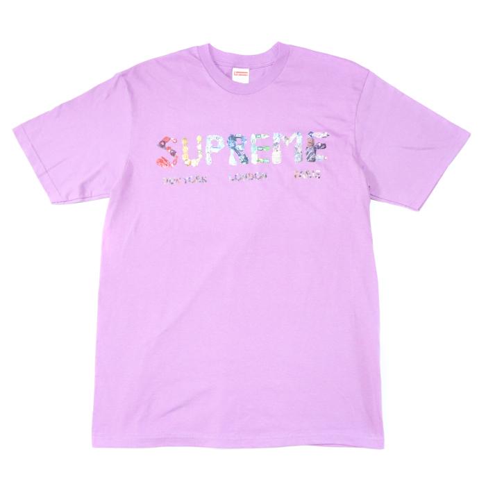 Supreme / シュプリームRocks Tee / ロックス TシャツLight Purple / ライトパープル2018SS 国内正規品 新古品【中古】
