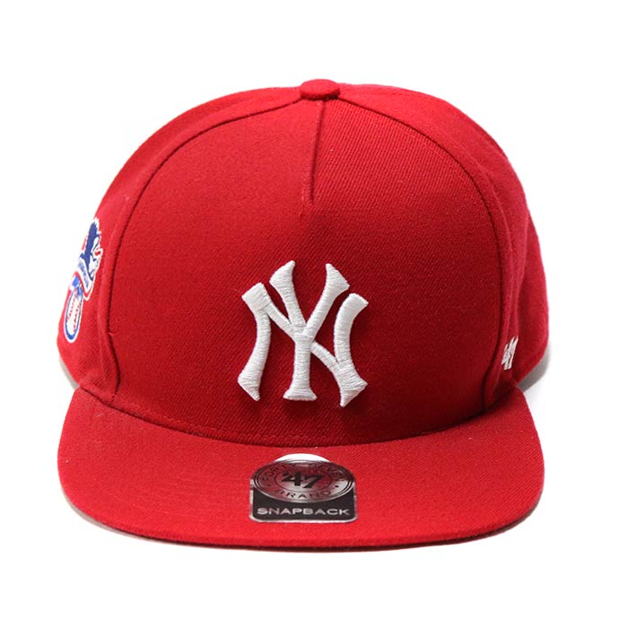 cbadb568f7a 2015SS Supreme x. New York Yankees x 47 Brand 5-Panel Snapback Cap