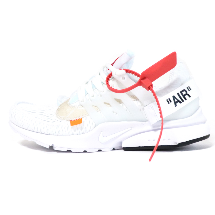 OFF WHITE VIRGIL ABLOH X NIKE off white Virgil horsefly low x Nike AIR PRESTO air presto WhiteBlack Cone white black corn 2018SS domestic