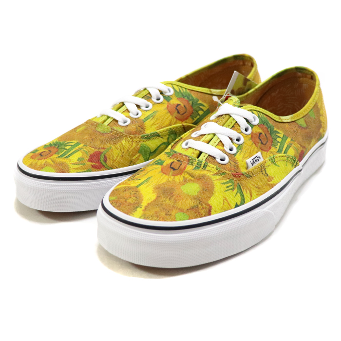 a08600ce794a VANS X VAN GOGH MUSEUM   vans fan Gogh museum AUTHENTIC (VINCENT VAN GOGH)    authentic fin cent fan Gogh SUNFLOWERS TRUE WHITE   サンフラワーズトルゥー ...