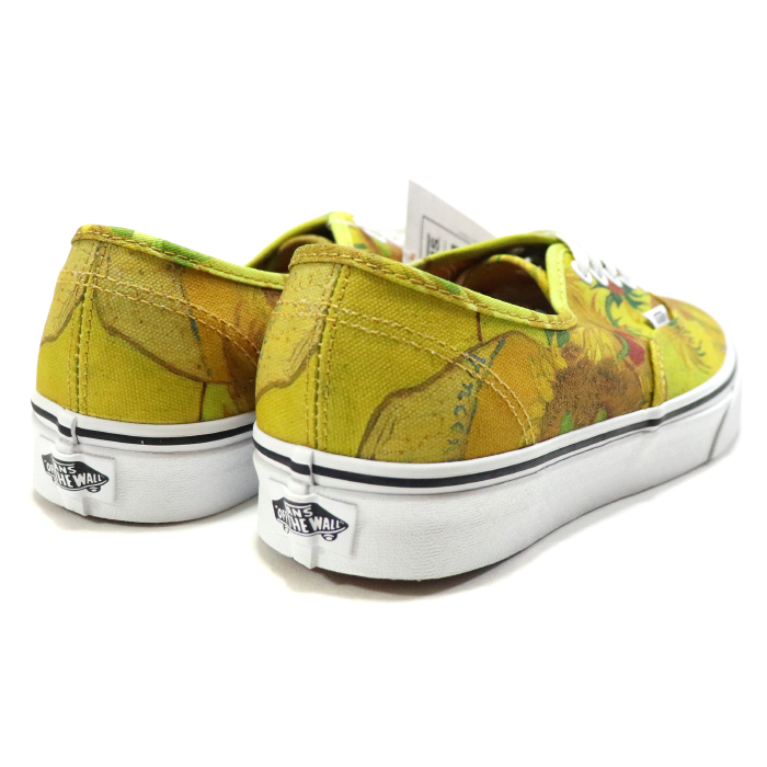 a3dc5a0edfa4 VANS X VAN GOGH MUSEUM   vans fan Gogh museum AUTHENTIC (VINCENT VAN GOGH)    authentic fin cent fan Gogh SUNFLOWERS TRUE WHITE   サンフラワーズトルゥー ...